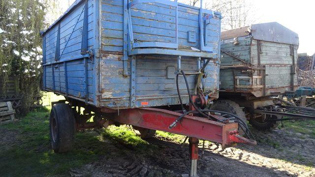 landwirtschaftlicher Kippanhänger (blau) SCHWARTBECK FD 80 VS