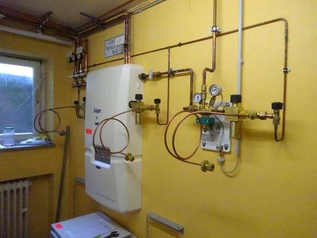 Medizinisches Gasversorgungssystem DRÄGER Gas Control Station