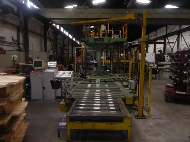 Cewka-Verpackungslinie MBD Bindeline für Stahlcoils
