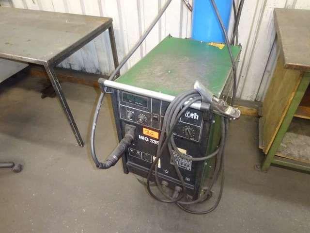 Schutzgasschweißgerät MEGATRONIC MIG335 MKII