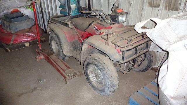Zugmaschine Ackerschlepper HONDA Quad Foreman ES 4x4 TXR 450 FE