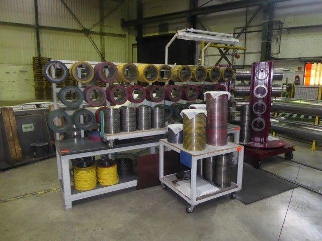 Posten Spaltwerkzeuge für Coil-Spaltanlage FIMI CTL (poz. 55)