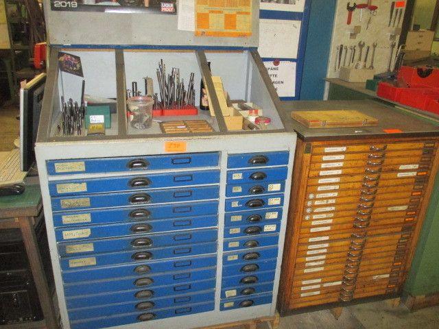 Holz-Schubladenschränke 24-zügig