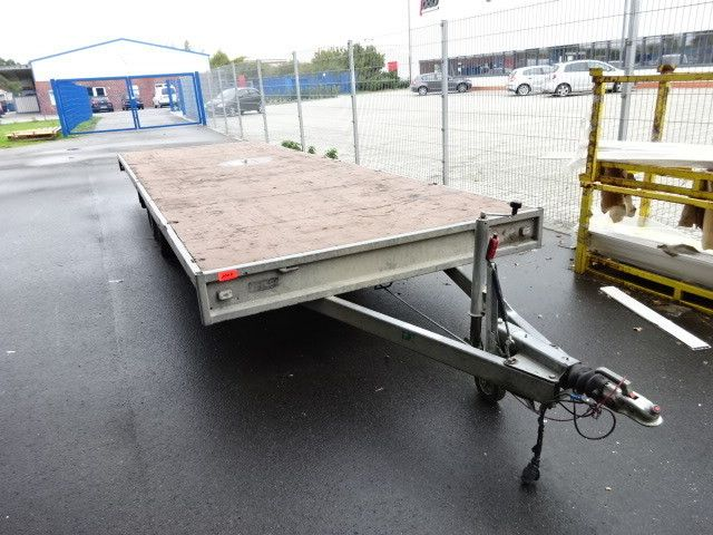 Plattform-Anhänger + Planken (2-Achser) HULCO (NL) MEDAX 3060