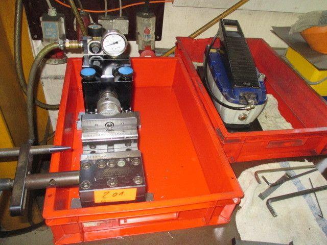 hydraulischer Maschinenschraubstock LANG Makro-Grip