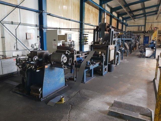 Packenwicklungsanlage für Stahlband