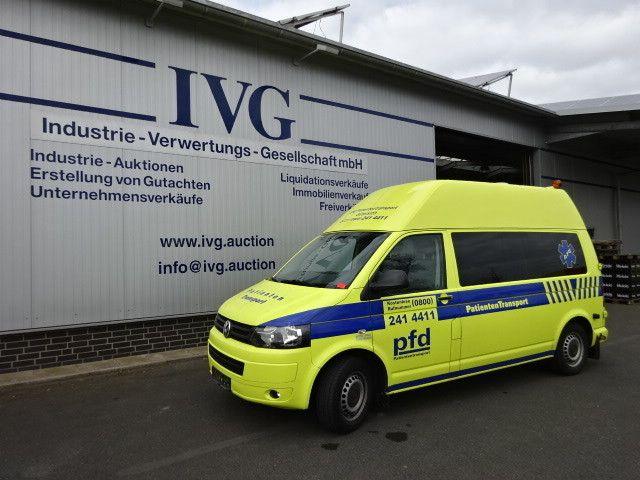 Krankenwagen VW Transporter