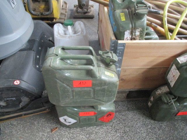Stahl-Benzinkanister