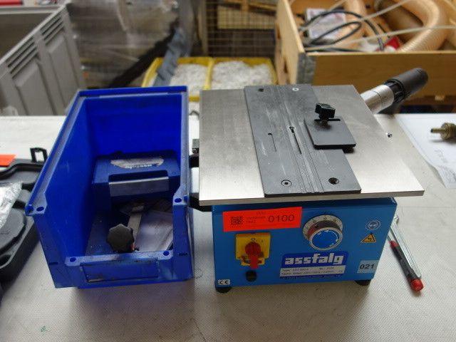 Kantenentgratmaschine ASSFALG ASO 600A
