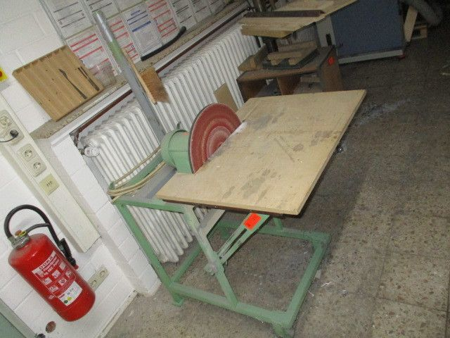 Tellerschleifmaschine (grün)