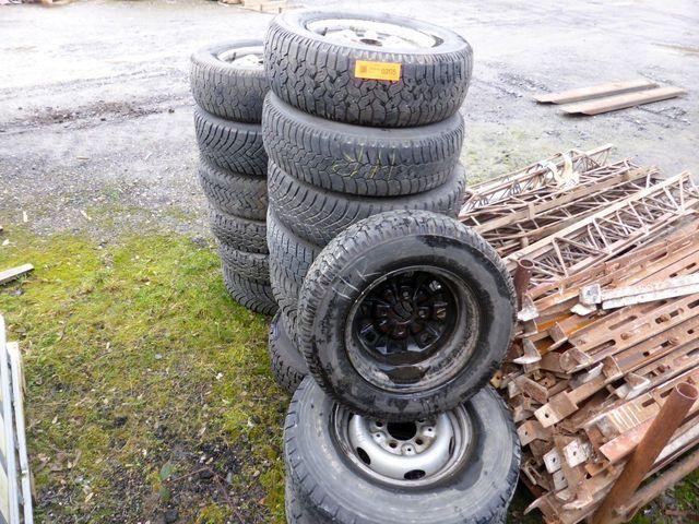 Posten Reifen und Räder