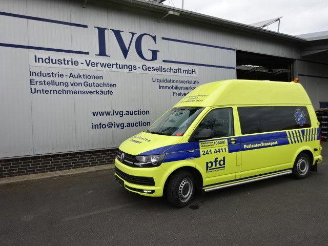 SO.KFZ Krankentransportwagen VW Transporter