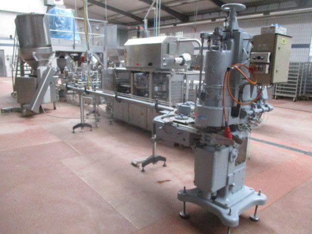 Dosenverschlussmaschine SCHMALBACH-LUBECA FMC 178
