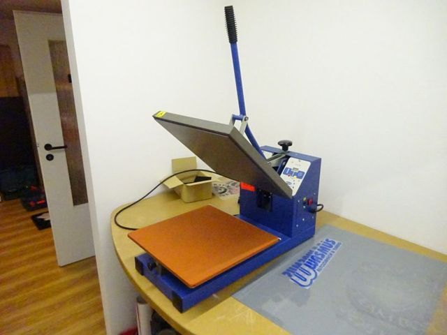 Textilpresse JARIN HF 4500