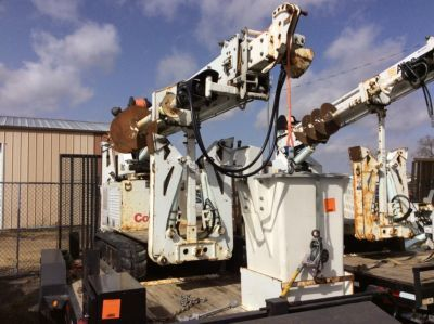 Altec DB37 Hinterhof Digger Derrick On 2009 McElroy T9023003 All-Terrain-Spurmaschine (1125845)