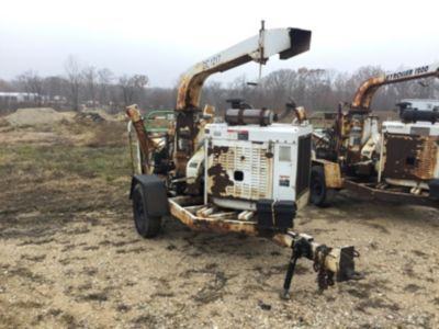 2007 Altec Environmental Products DC1217 Hackmaschine (12