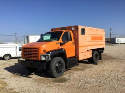 2005 GMC C6500 Chipper Dump Truck (163886)