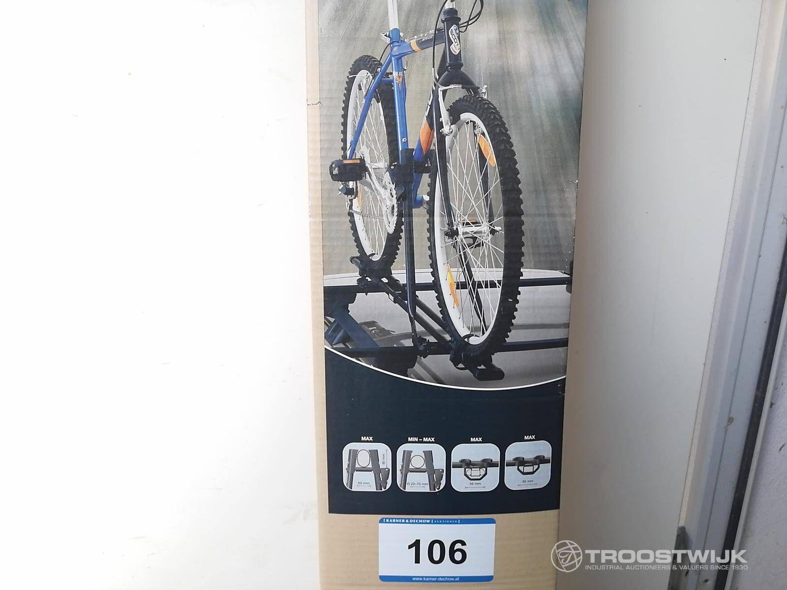 Abschließbarer Fahrradhalter