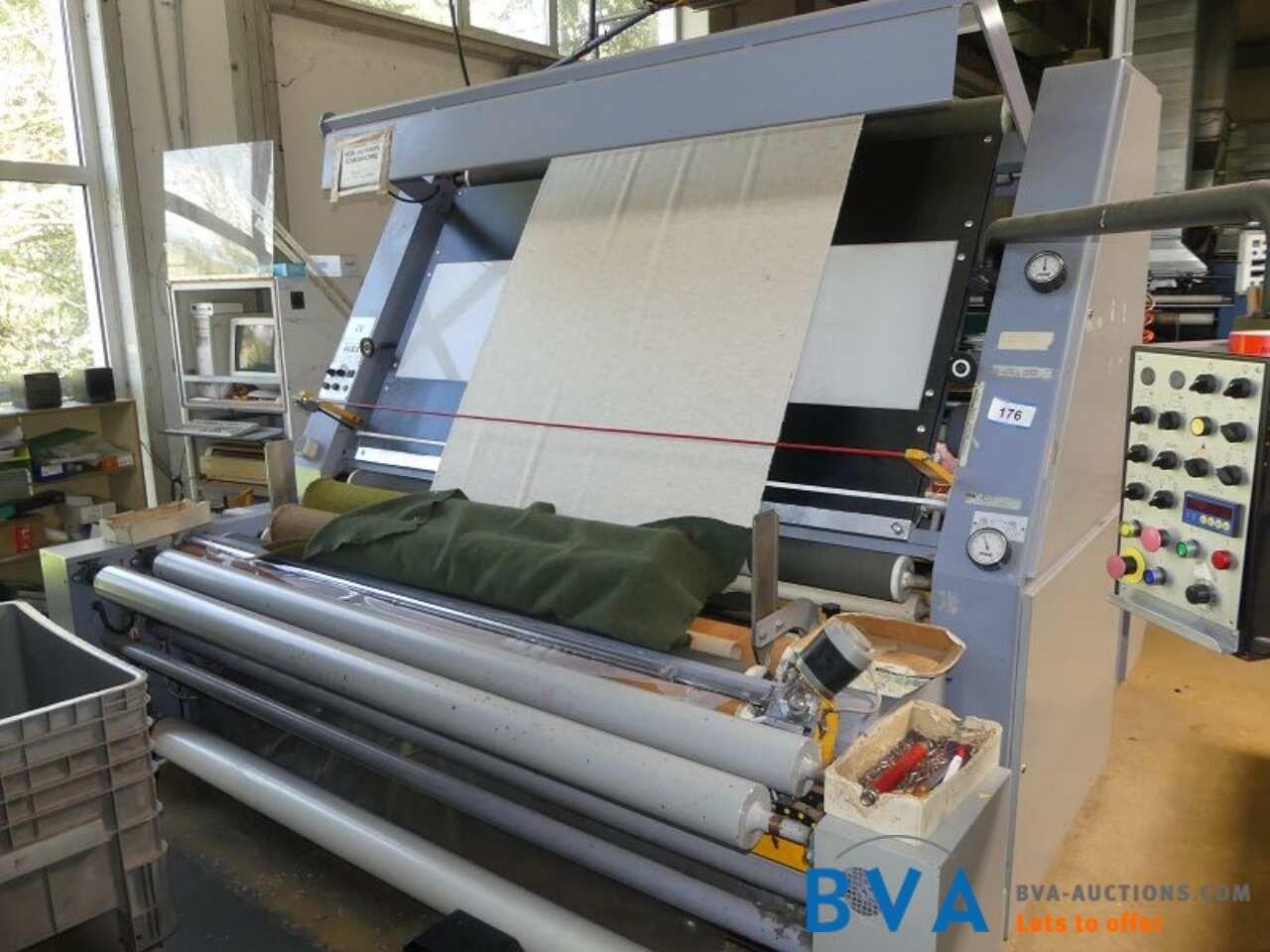 Durchlauf-Mess- und Stoffinspektionsmaschine Alex M222F-P-P-t