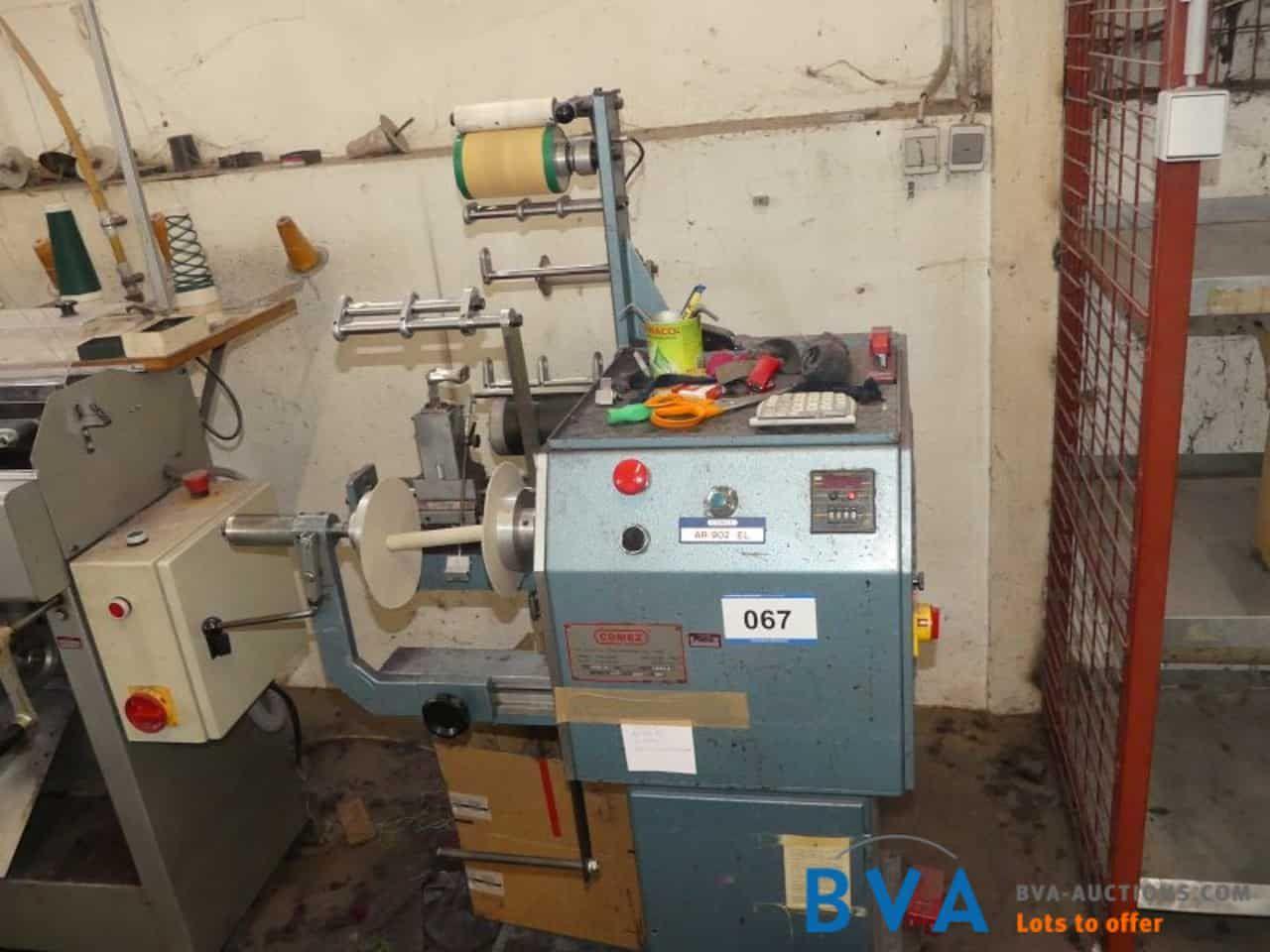 Borten-Wickelmaschine Comez AR902