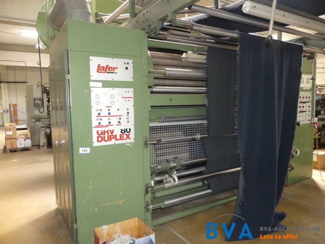 Durchlauf-Raumaschine Lafer GRV80-Duplex