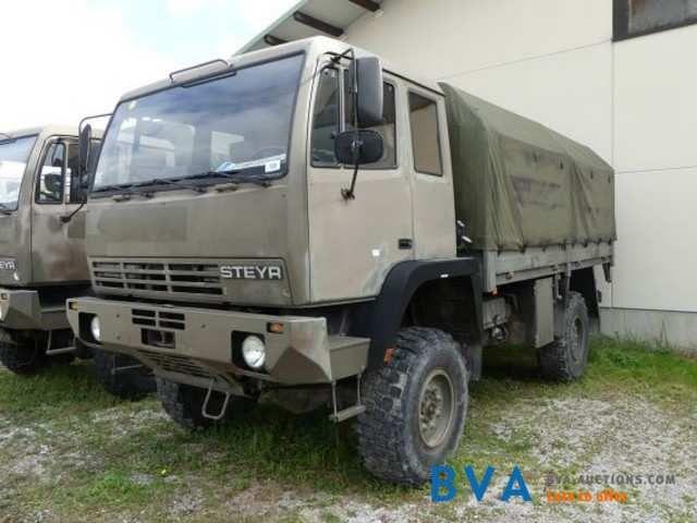 LKW Steyr 12M18/4x4 MF/SCHUL