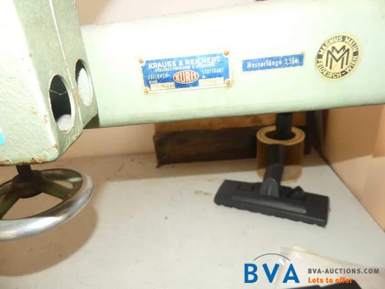 Bandmesser-Schneidmaschine Kuris PKR250 Kraus & Reichert