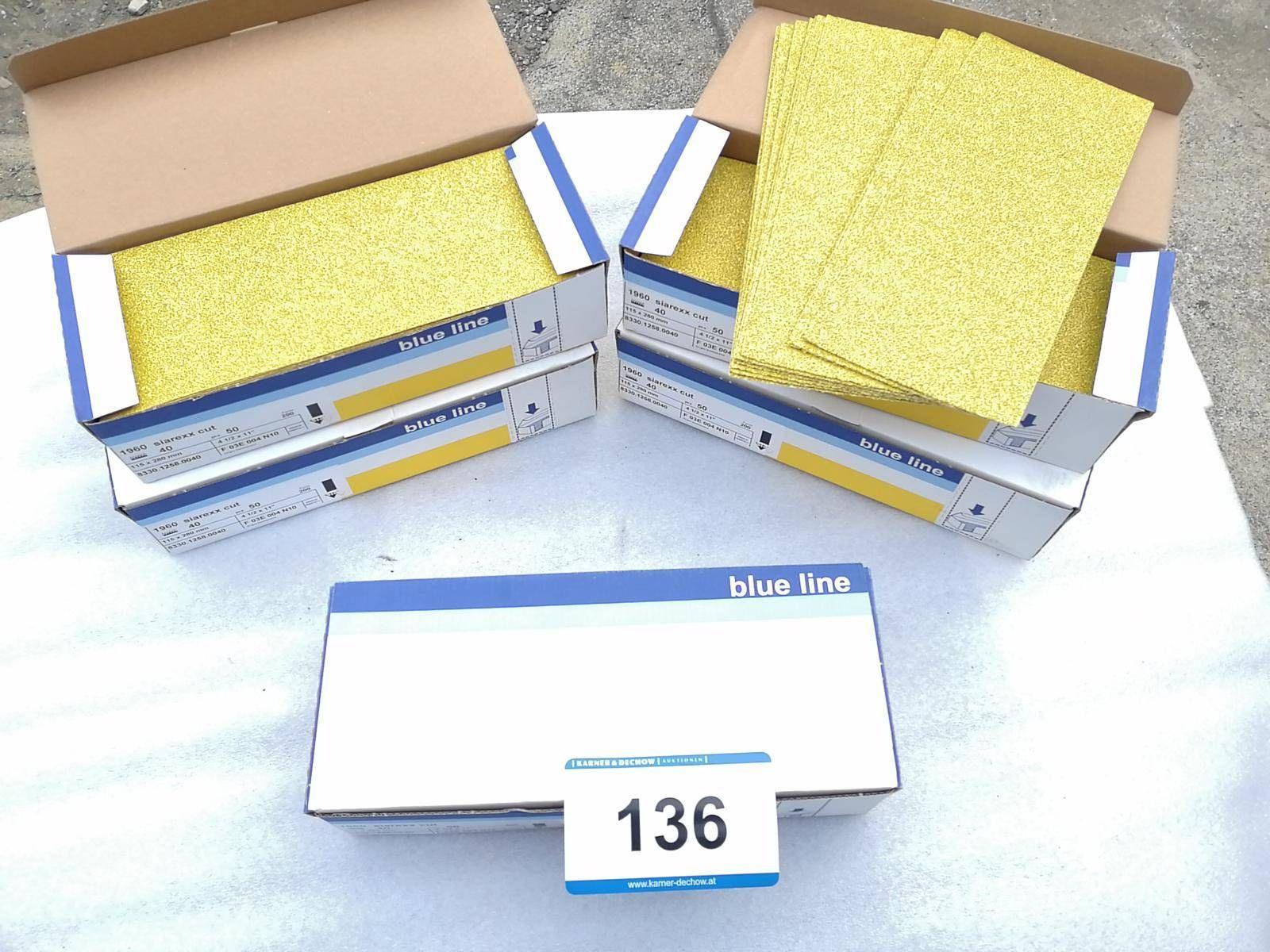5 Packungen Schleifpapier