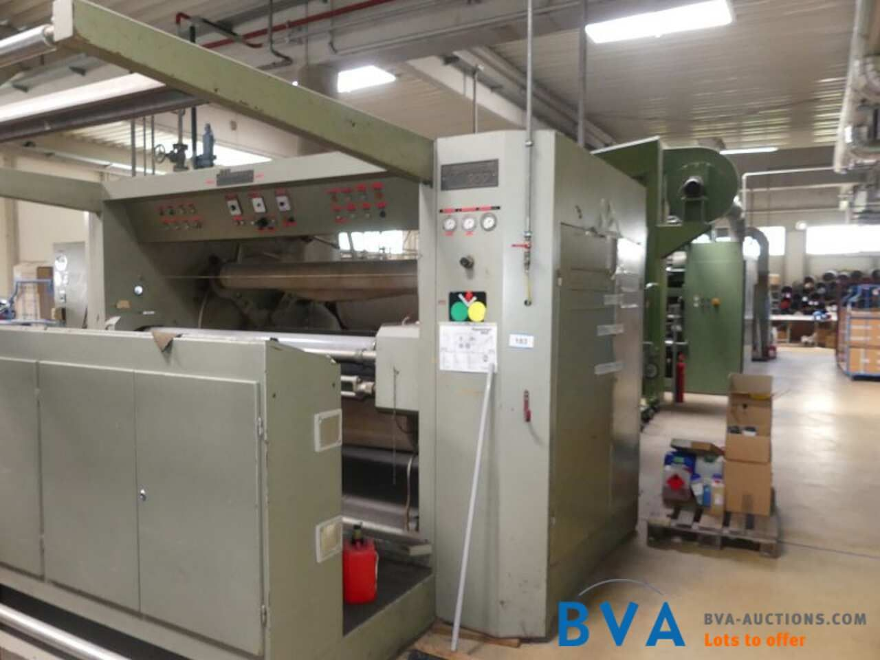 Stoff-Durchlaufpresse Moers Vespermat 900