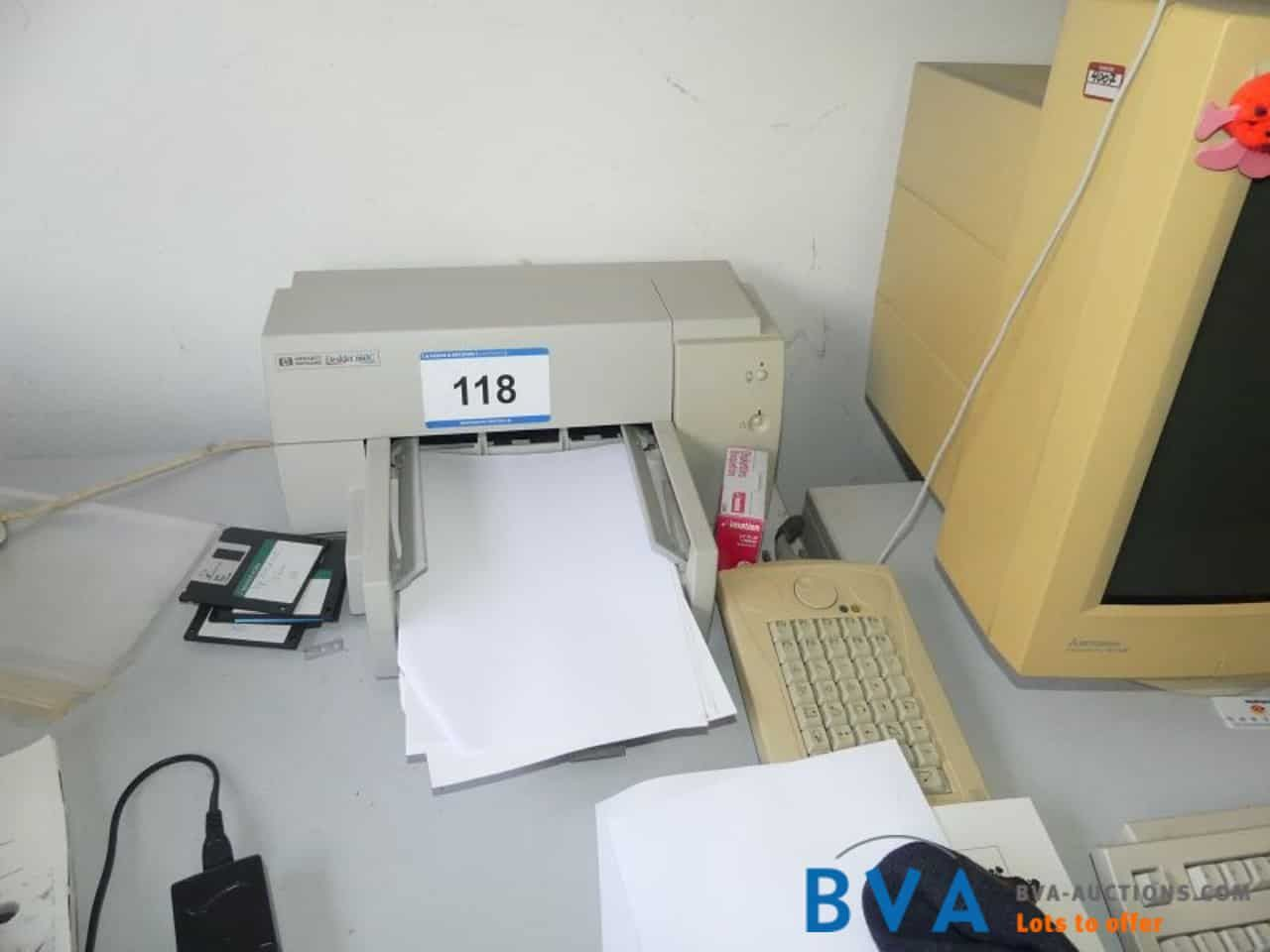 Kopierer HP Deskjet 660 C