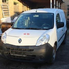 Van, RENAULT, KANGOO, 1.5 DCI 85, year 2009 KM: 123274 set No. VF1FW0BB539895070, former reg. No. XJ88567, tank cover cover missing. Auction 529 # 0003