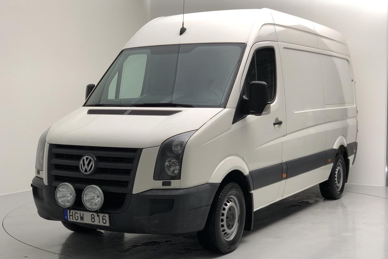 VW Crafter 35 2.5 TDI Skåp (136hk)
