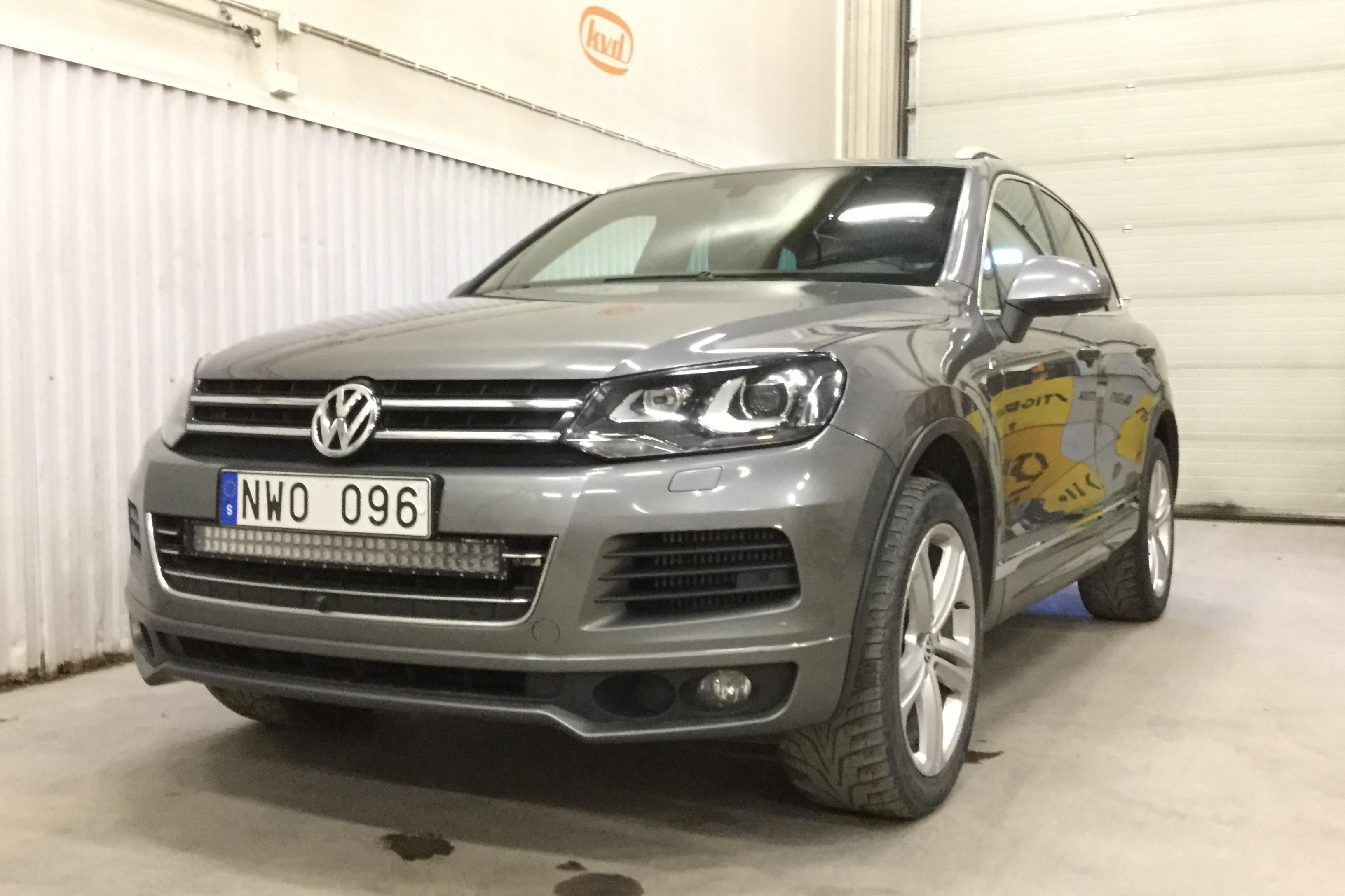 VW Touareg V6 TDI BlueMotion Technologie (245hk)