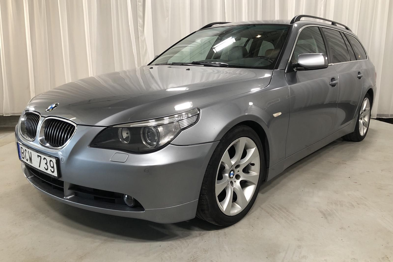 BMW 525d Touring, E61 (177 PS)