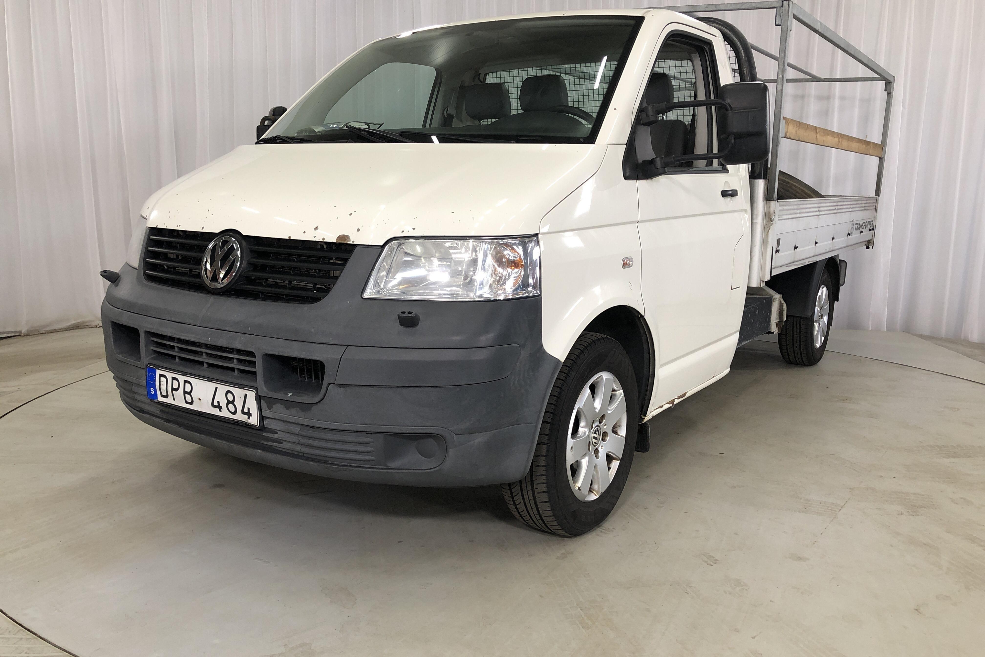 VW Transporter T5 2.5 TDI Pickup (130hk)
