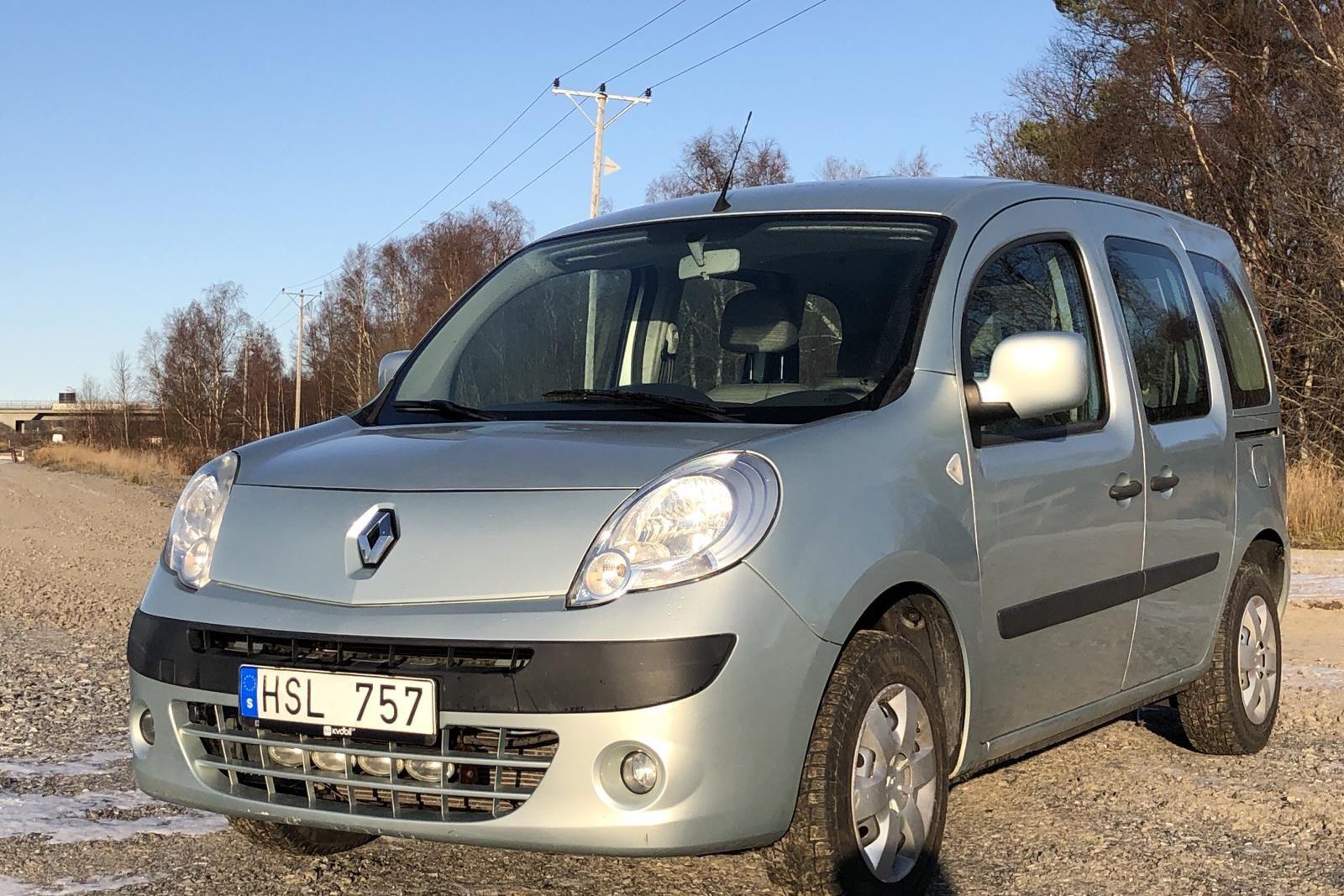 Renault Kangoo II 1.6 E85 (105hk)