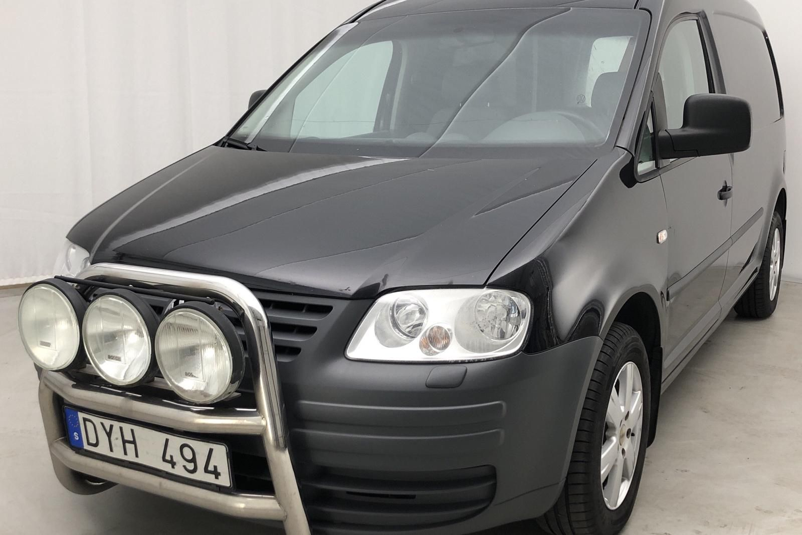 VW Caddy 1.9 TDI Maxi Skåp (105hk)