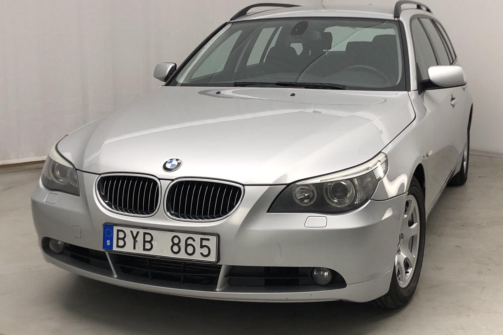 BMW 525d Touring, E61 (177 PS)