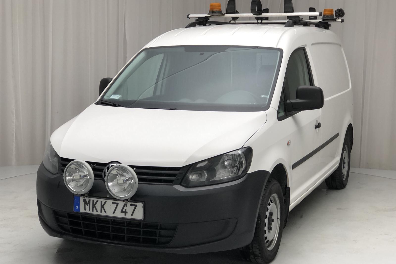VW Caddy 2.0 TDI Maxi Skåp 4-Motion (110HK)