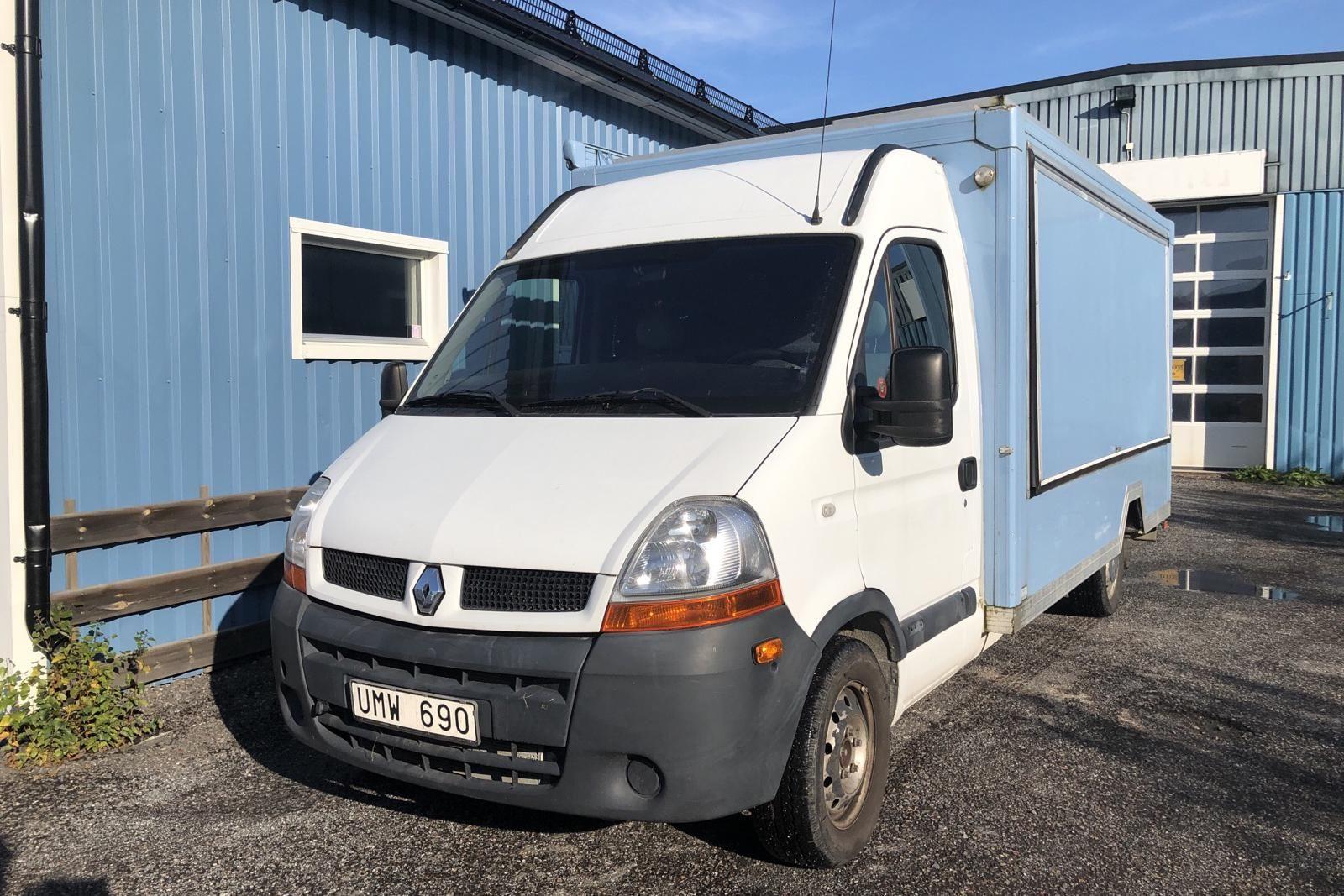 Renault Master 2.5 dCi Skåp (115hk)