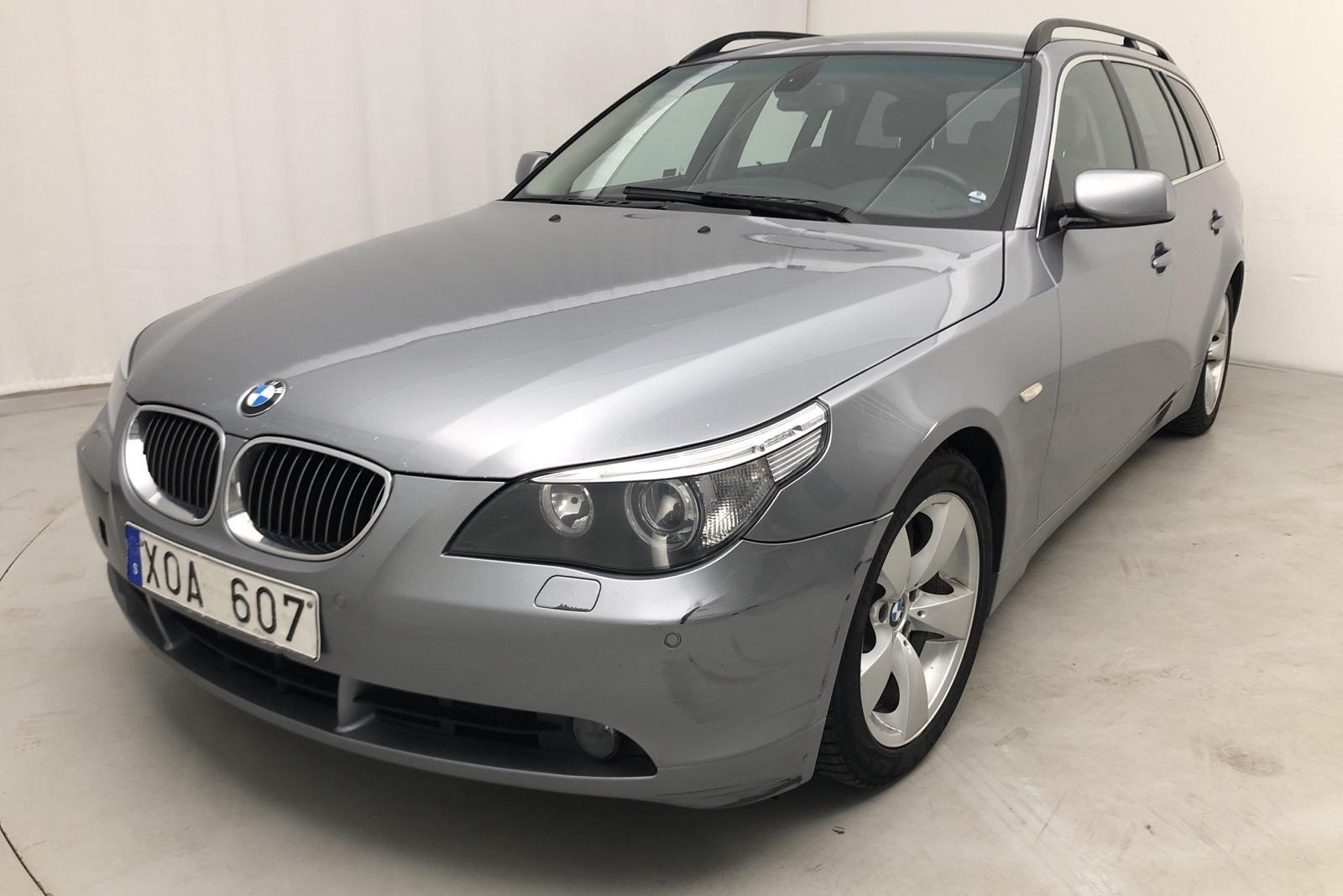 BMW 535d Touring, E61 (272hk)