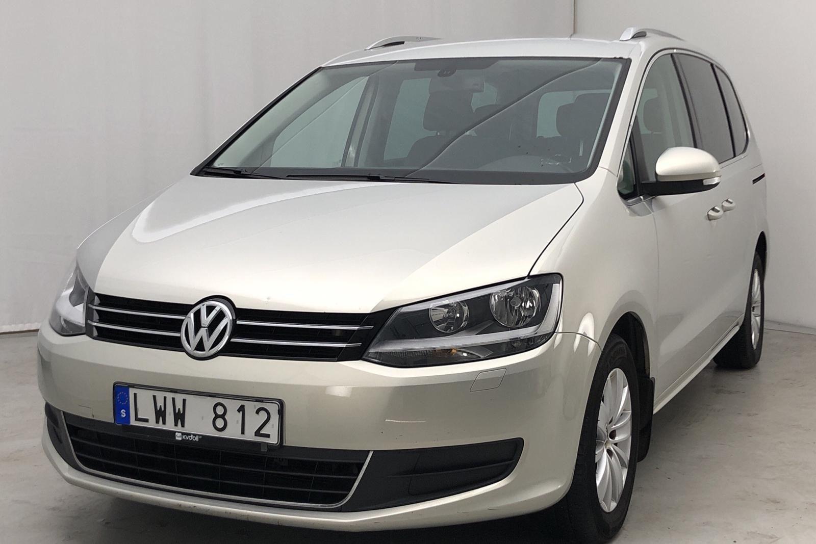 VW Sharan 2.0 TDI BlueMotion-Технология (140 hk)