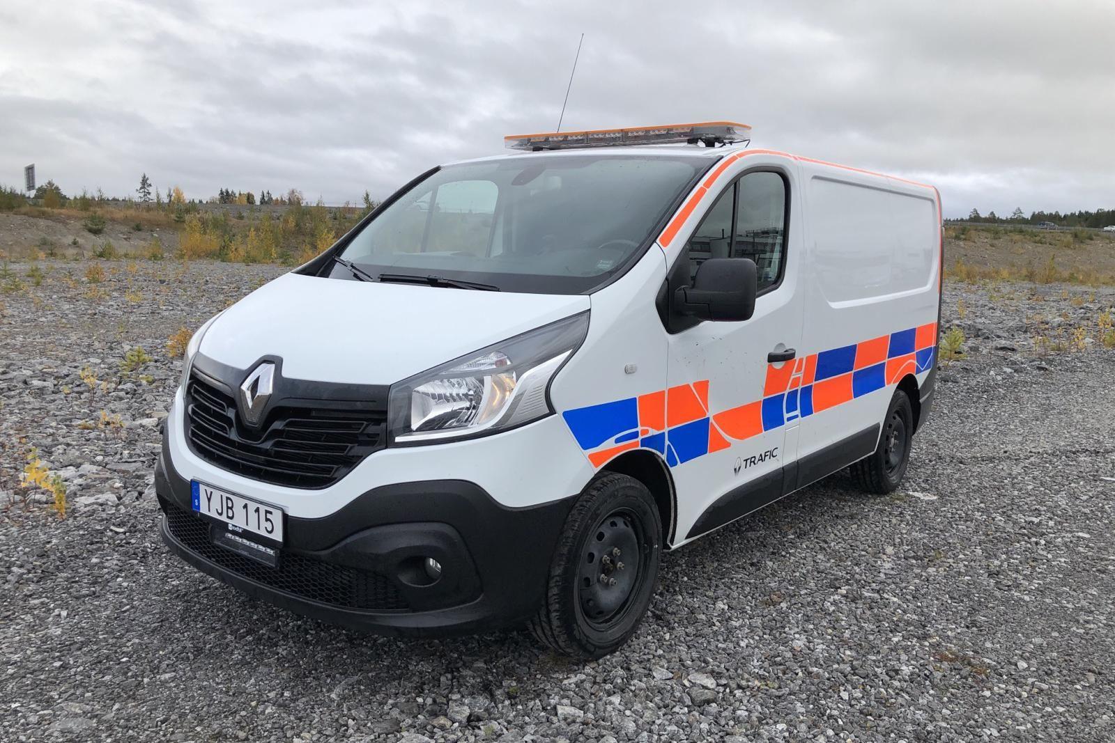 Renault Traffic 1.6 dCi Skåp (95hk)