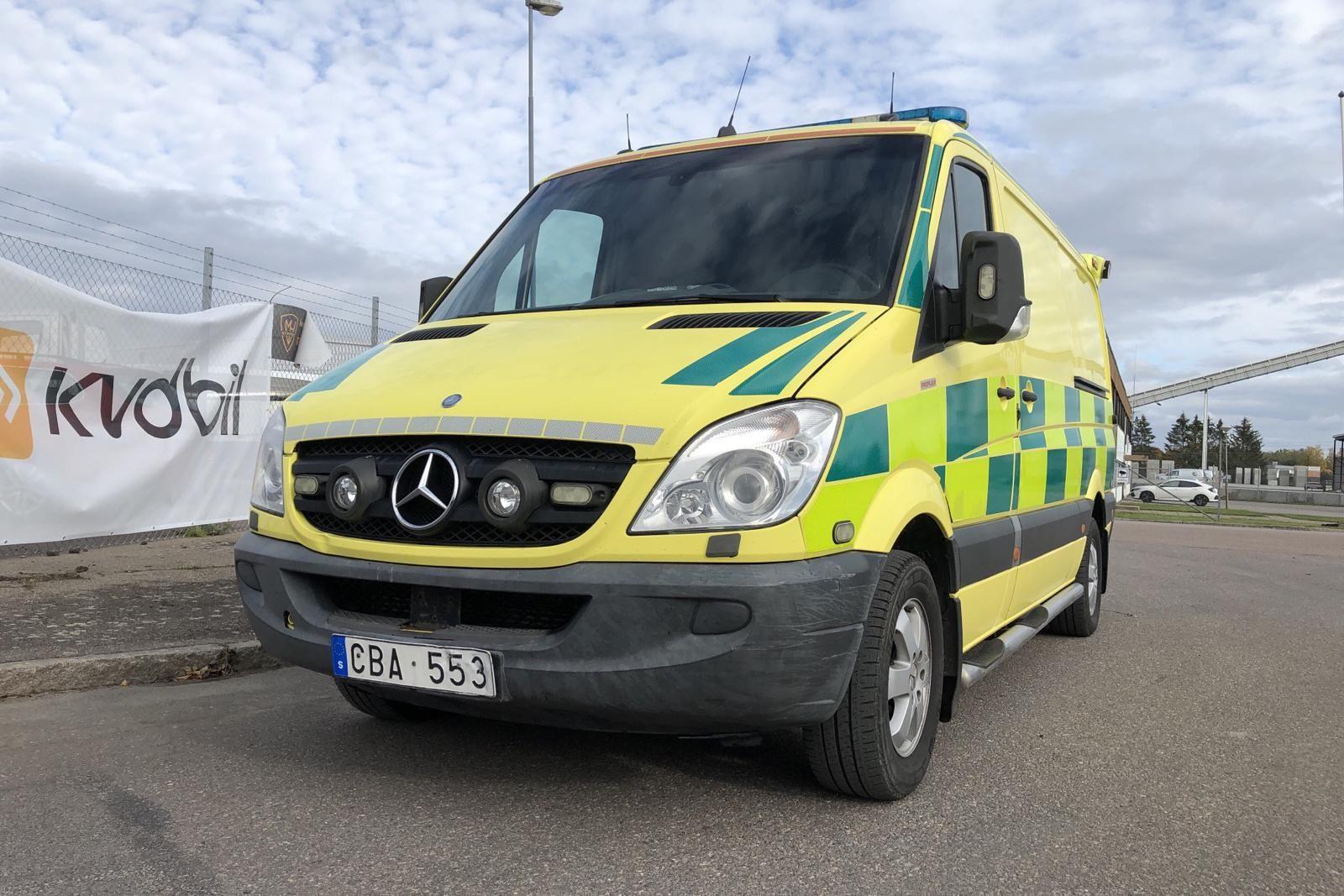 Mercedes Sprinter 319 CDI Ambulans (190hk)