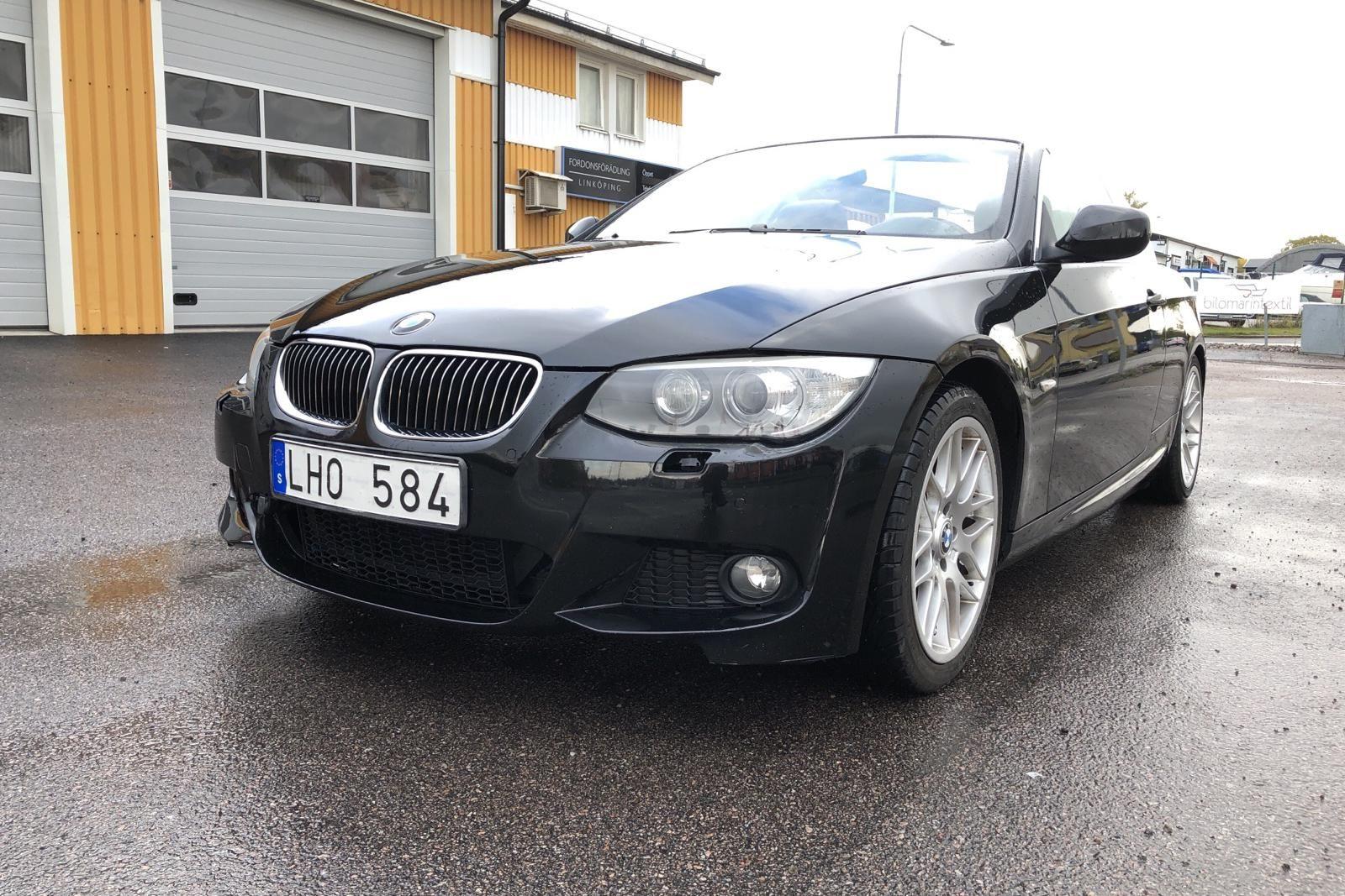 Кабриолет BMW 325i, E93 (218hk)