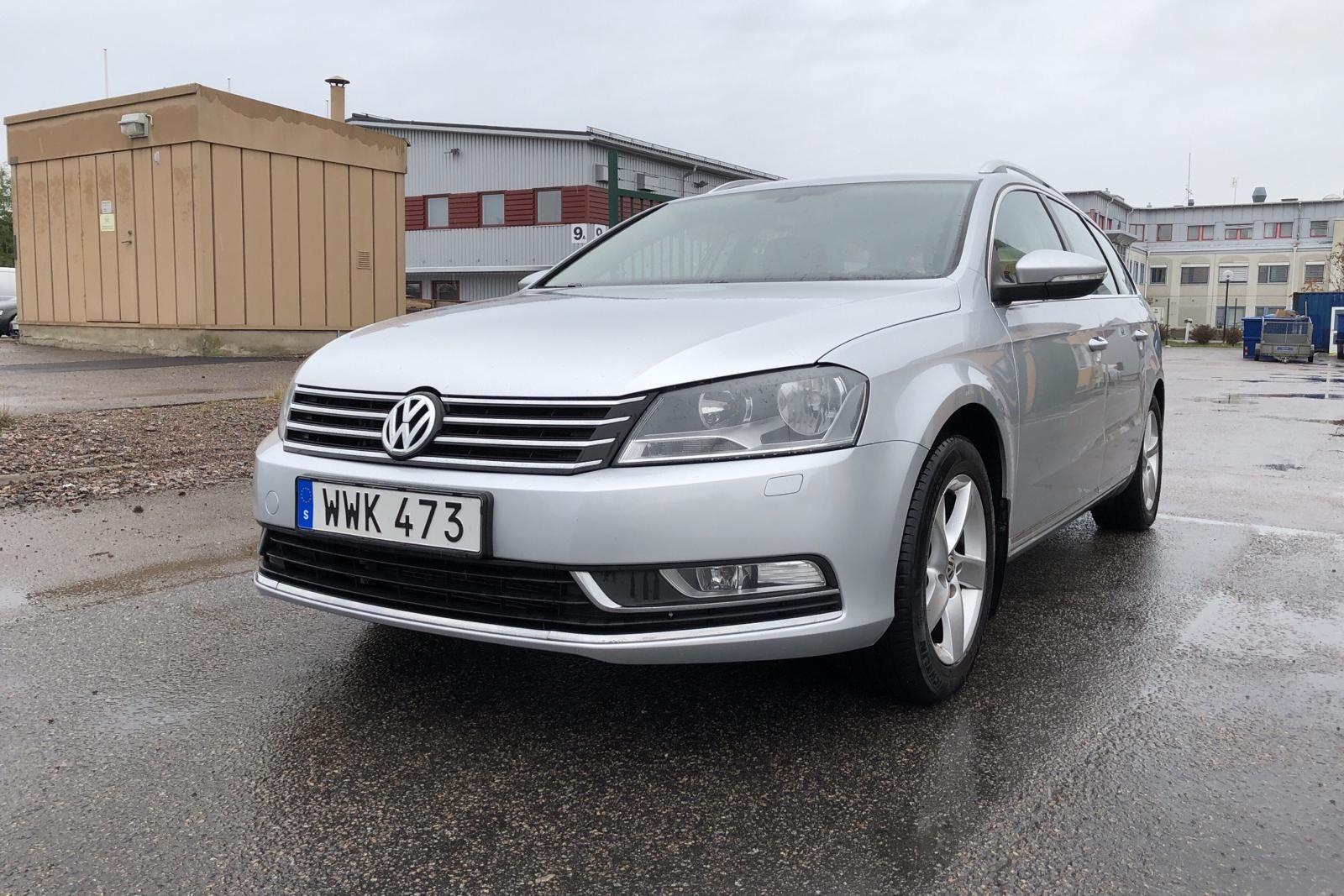 VW Passat 1.4 TSI EcoFuel-Variante (150 hk)