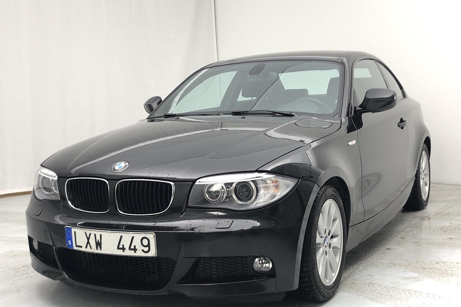 BMW 118d Coupé, E82 (143 PS)