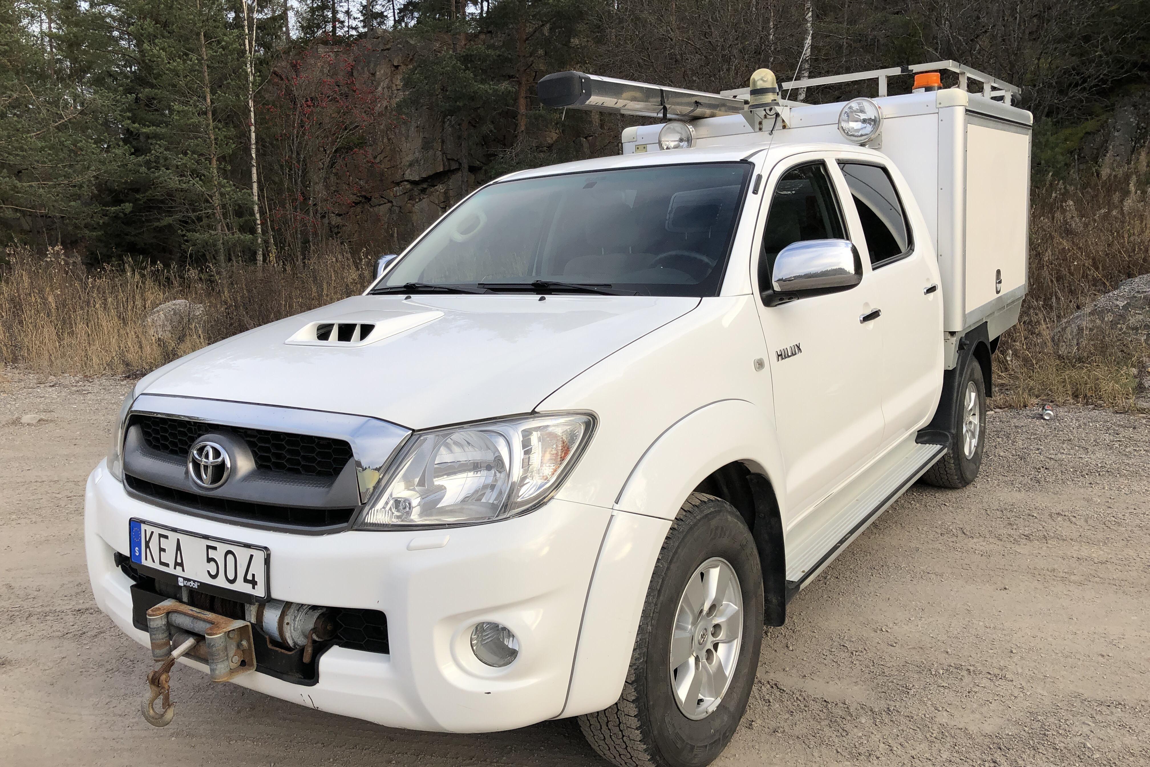 Toyota Hilux 3.0 D-4D 4WD (171hk)