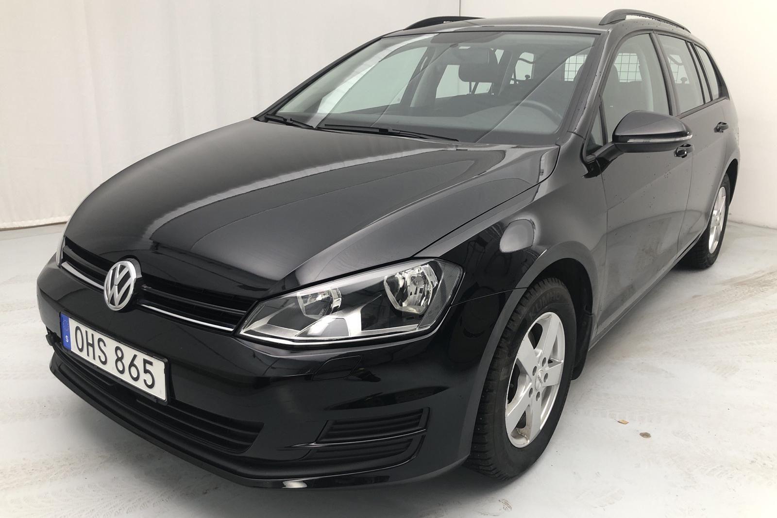 VW Golf VII 1.6 TDI BlueMotion Sportscombi 4Motion (110hk)
