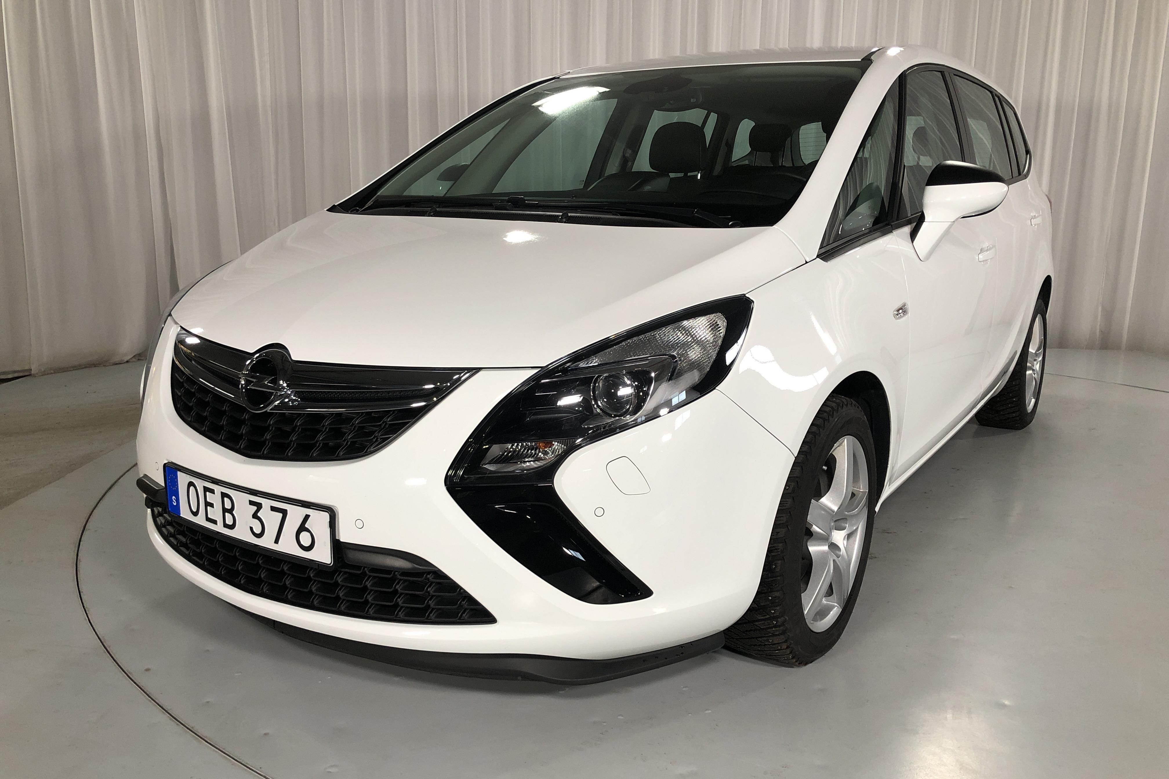 Opel Zafira 1.6 CNG ecoFLEX (150hk)